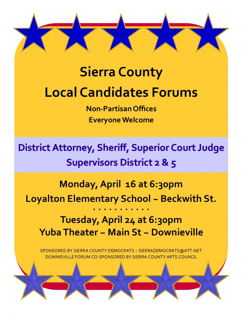 2018 Local Candidate Forum