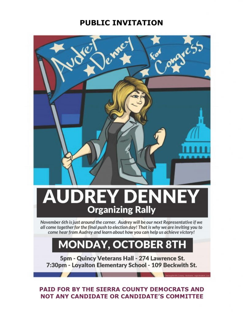 Audrey Denney Rally 0-8-18 event