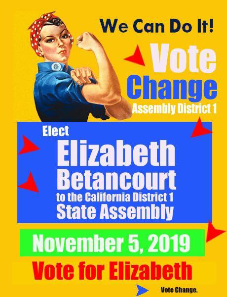 Vote Elizabeth Betancourt Nov 5!