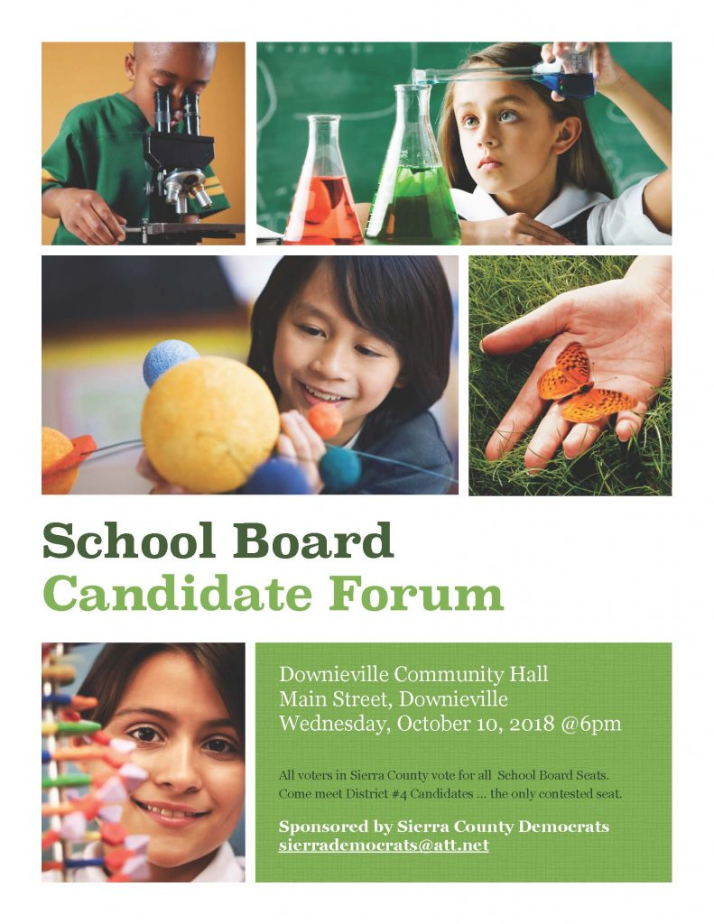 SPJUSD Board forum 10-10-18 Downieville